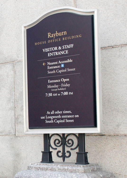 US Capitol Complex Rayburn Office Directory