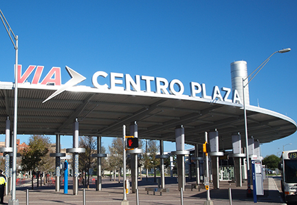 Centro Plaza at VIA Villa, San Antonio VIA System