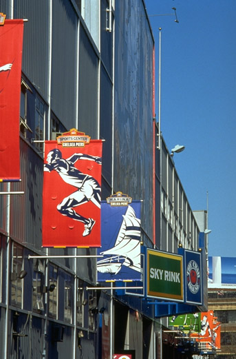 Chelsea Piers banners