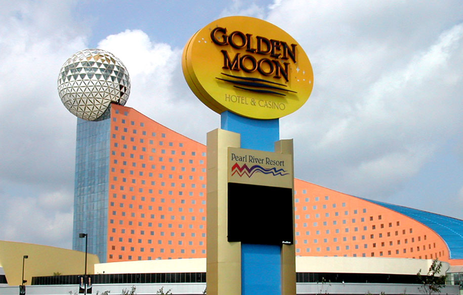 Golden Moon exterior monument