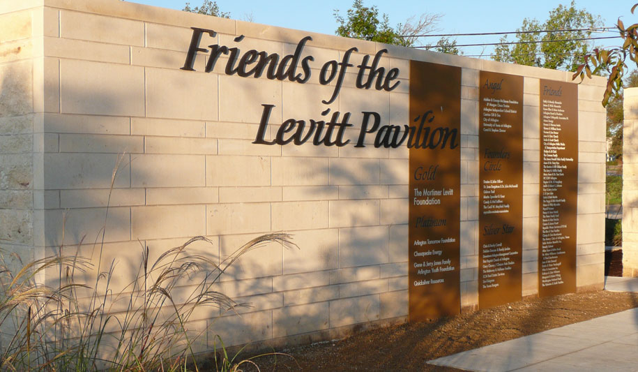 Founders Plaza at Levitt Pavilion