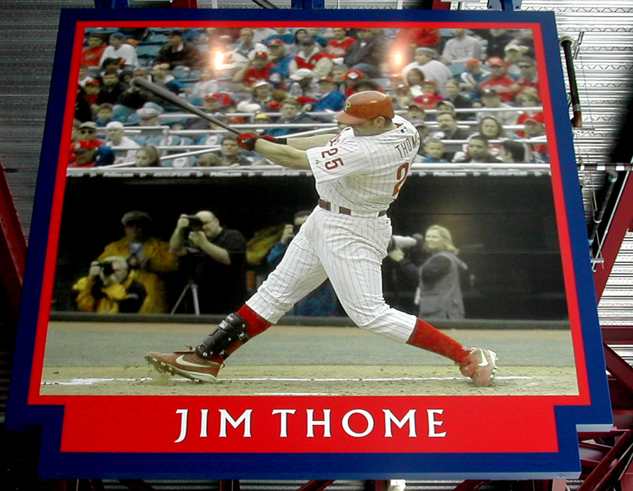 Citizens Bank Park jim thome image