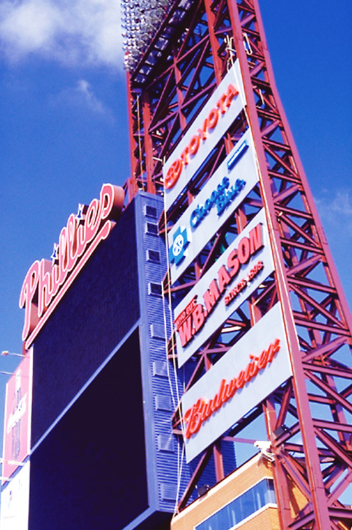 Citizens Bank Park tower