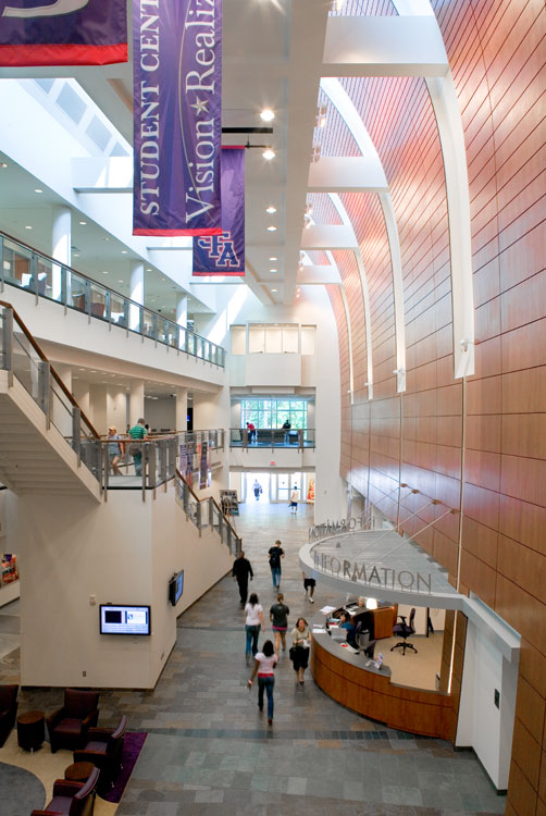 Stephen F. Austin Student Center Banners and Information